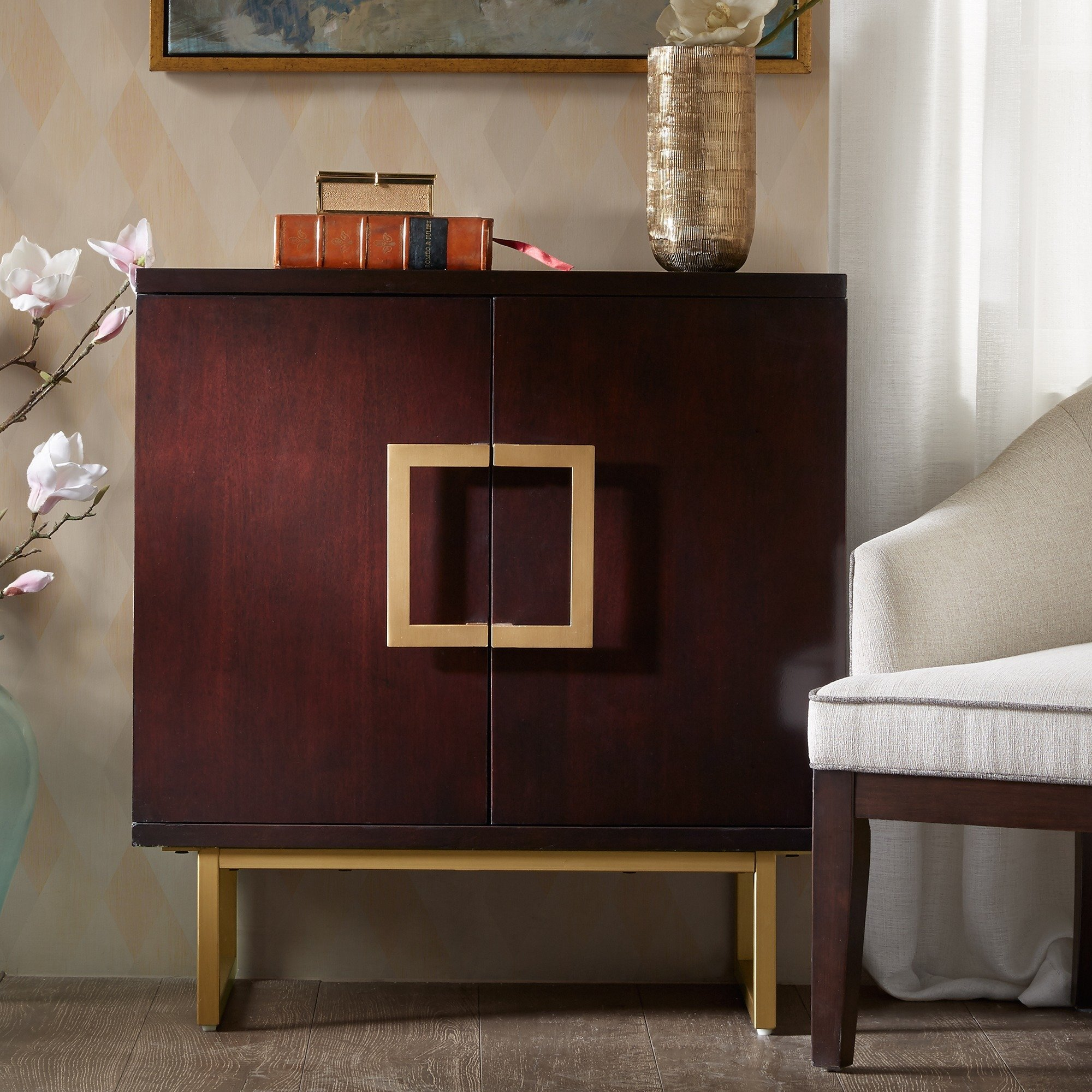 madison park kenzie gold chest free shipping today brown accent table vintage octagon side target kindle fire house interior design campaign console mirrors nautical bar lights