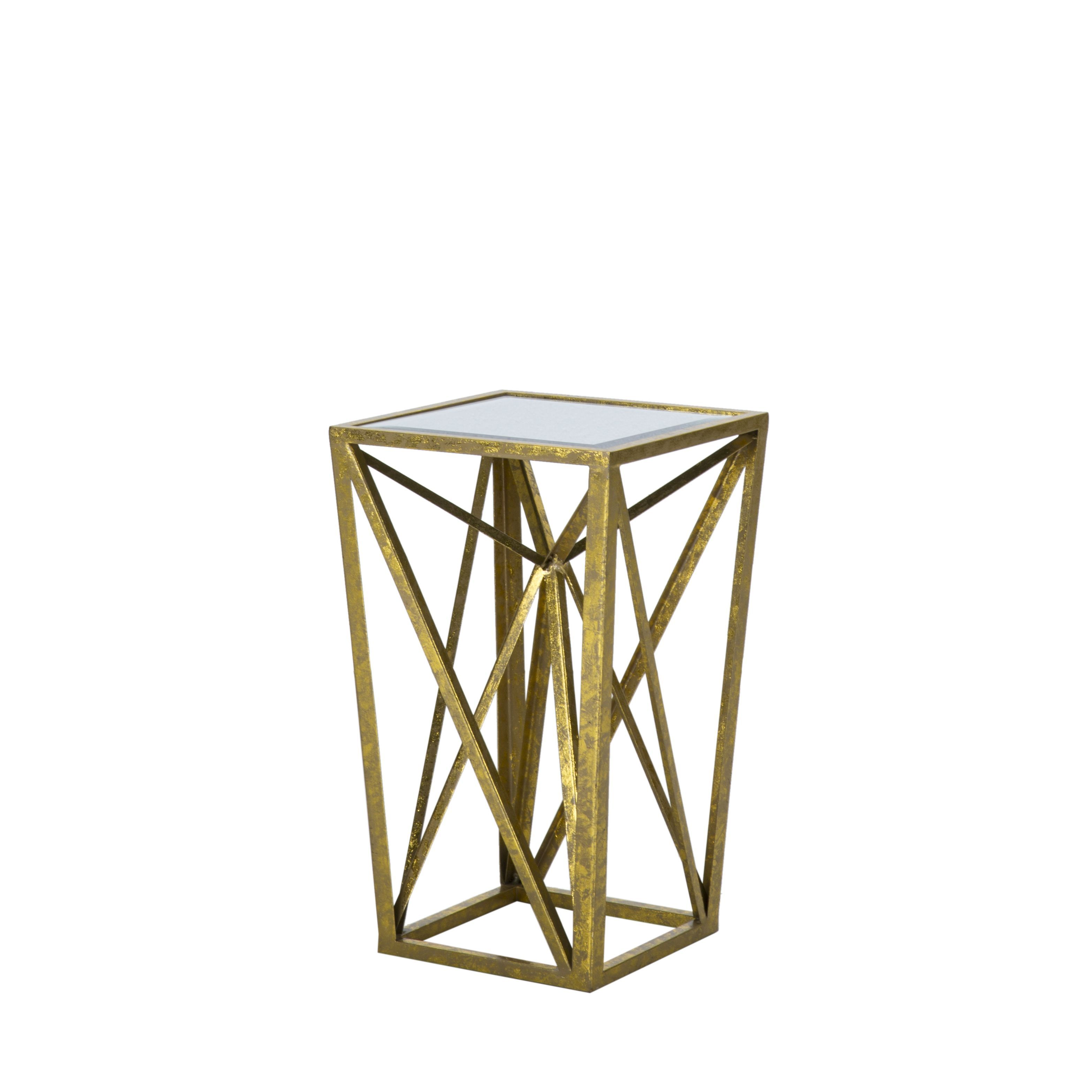 madison park maxx gold angular mirror accent table tables with matching mirrors unique end round glass metal tile top coffee ashley furniture kitchen counter looking for nate
