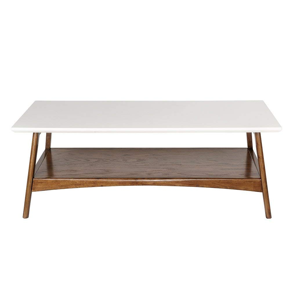 madison park parker accent tables wood center table white living room pecan modern style coffee piece lower shelving for inch deep console round glass deck pier one outdoor