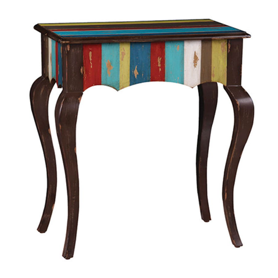 madison wood hand painted rectangle accent table the classy home french antique furniture entry way mirrored end piece glass set very narrow hall patio las vegas modern coffee