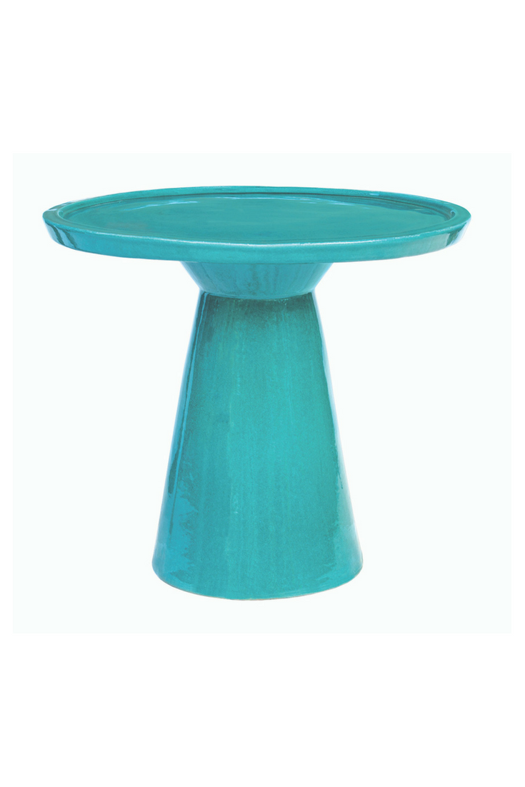 magazine summer decor ideas outdoor tables table indoor ceramic accent colombo show your styles with this streamlined and handmade perfect idea for patio living room hampton bay