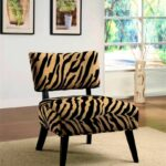 magnificent animal print dining chairs for your home decorating accent furniture white chest round metal garden table wesley allen beds long and narrow console kitchen room oval 150x150