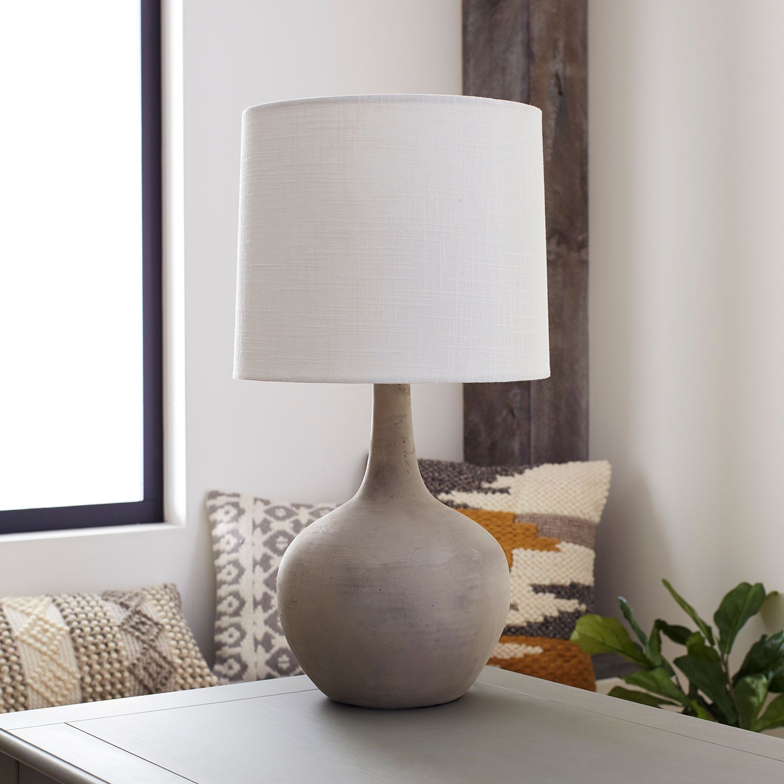 magnolia home ashby large cement table lamp linzee living pier one accent lamps imports chinese shades with hidden chairs garden umbrella sisal runner modern dining room sets cool