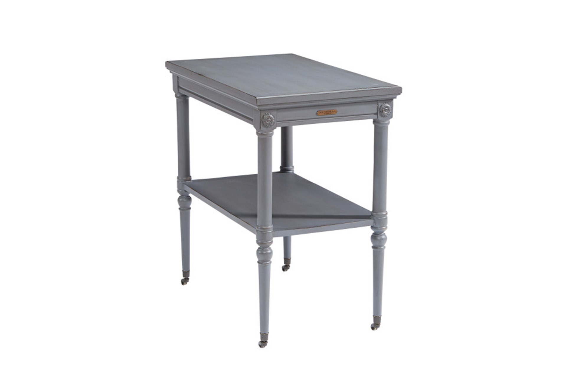 magnolia home petite rosette french grey accent table joanna large white gaines qty has been successfully your cart antique end styles wood drum wicker patio tables heavy umbrella