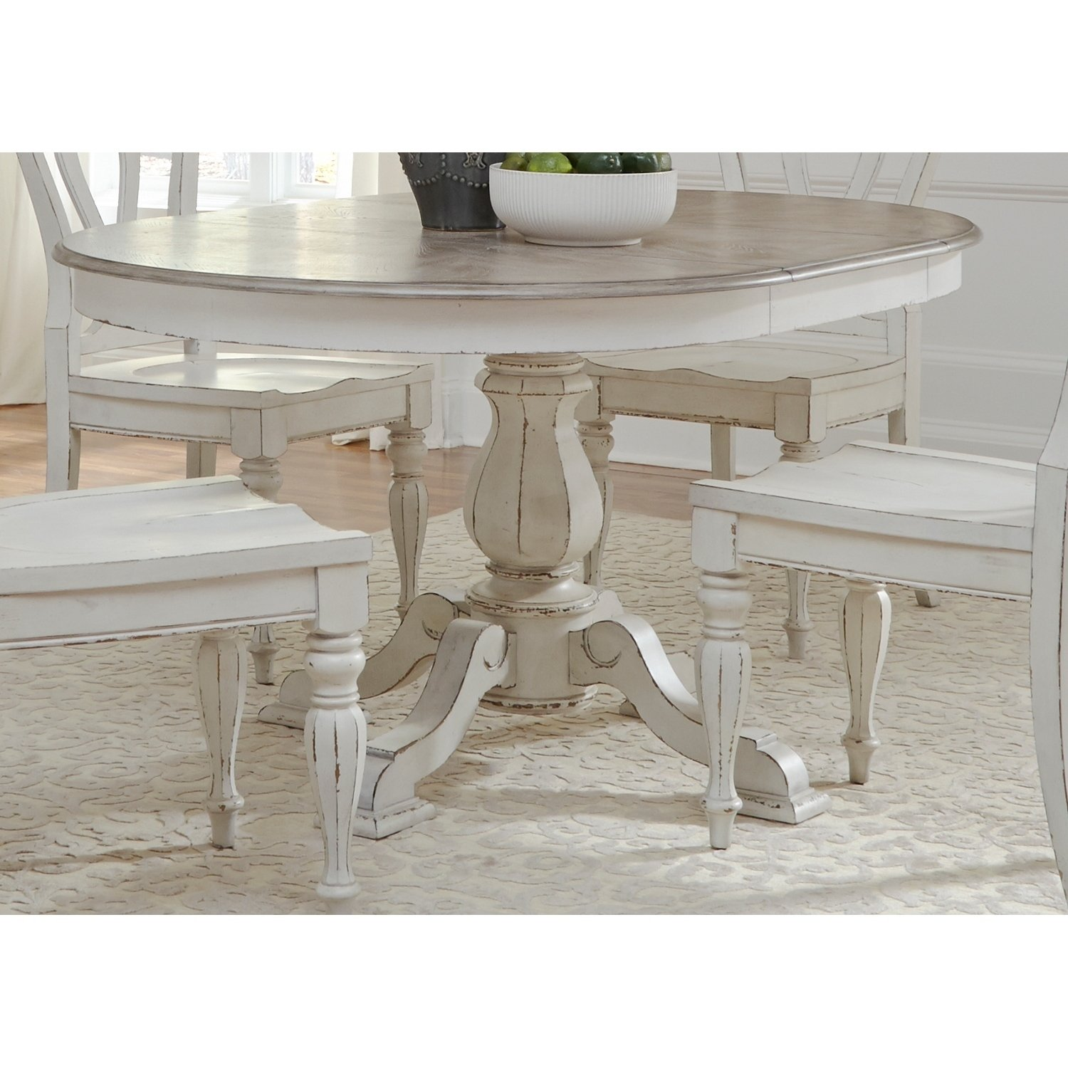 magnolia manor antique white pedestal table accent free shipping today gold and wood side lamp target reclaimed pub qvc furniture gray coffee end tables chairs toronto home
