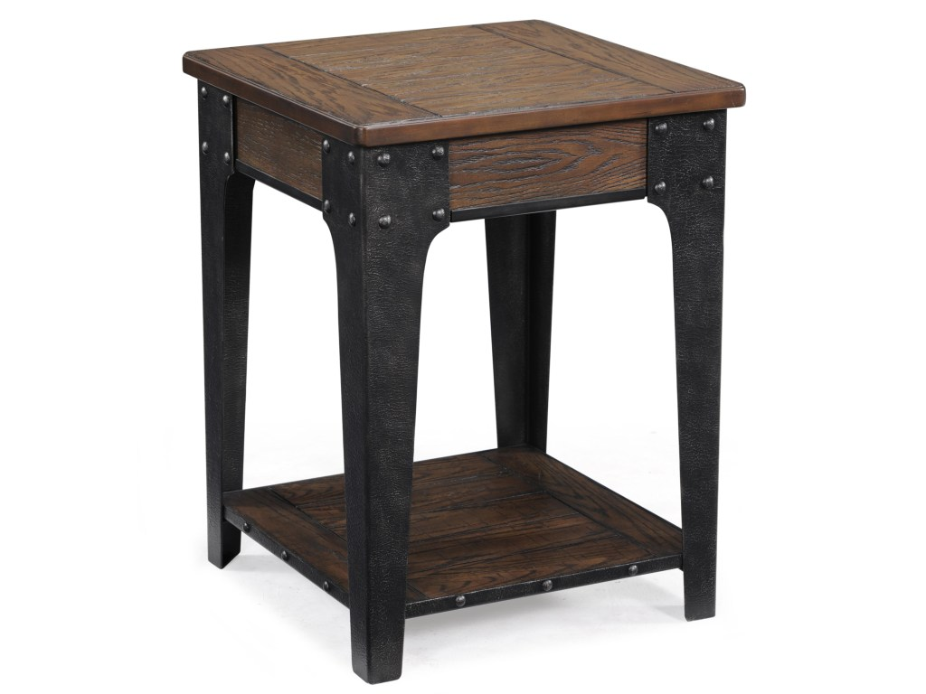 magnussen home lakehurst square accent table dunk products color with drawer unique lamps wrought iron patio dining target storage retro vintage sofa cherry wood end tables living