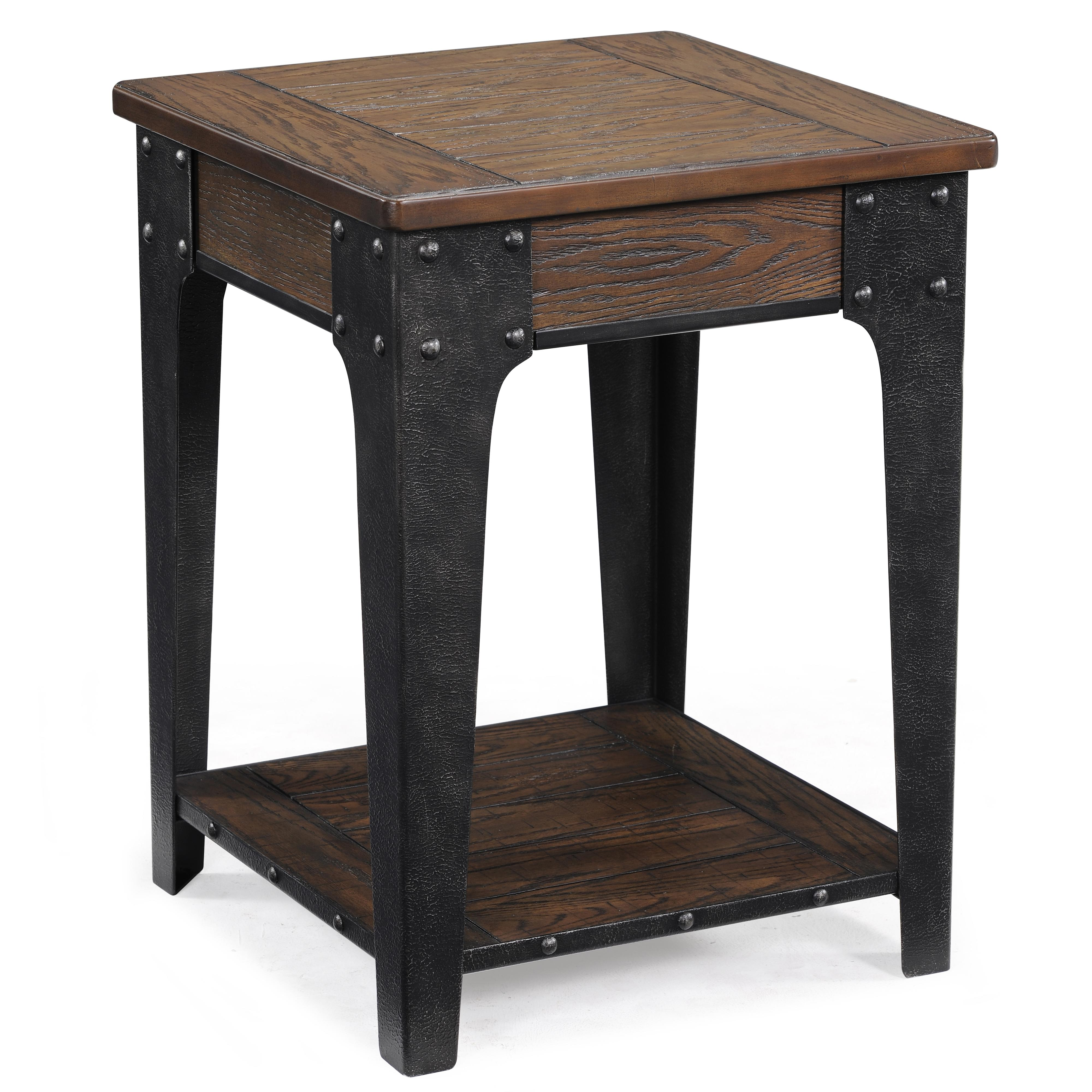 magnussen home lakehurst square accent table olinde furniture products color living spaces tables small stand hampton bay spring haven best decor websites round vinyl covers