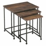 magnussen woodbridge wood nesting end table wrought knurl accent tables silver chest small deck and chairs large wall clock black cherry coffee set trestle dining verizon ellipsis 150x150