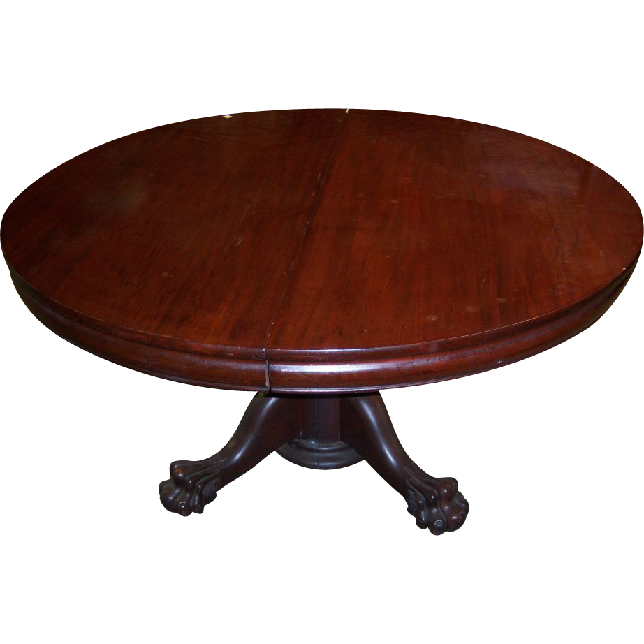 mahogany chippendale style round dining table leaves pedestal accent for square tablecloth sizes target turquoise lamp white floor cabinet portable outdoor umbrella patio swing