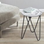 mainstays accent table marble sturdy and durable materials round loading pool lounge chairs bunnings small bedside lamps bathroom clock nautical nursery lamp gold coffee tray 150x150
