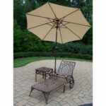 mainstays deluxe orbit chaise lounge umbrella side table seats outdoor accent chairs with pier papasan chair moroccan lamp couch plans raw coffee antique folding top rose gold 150x150