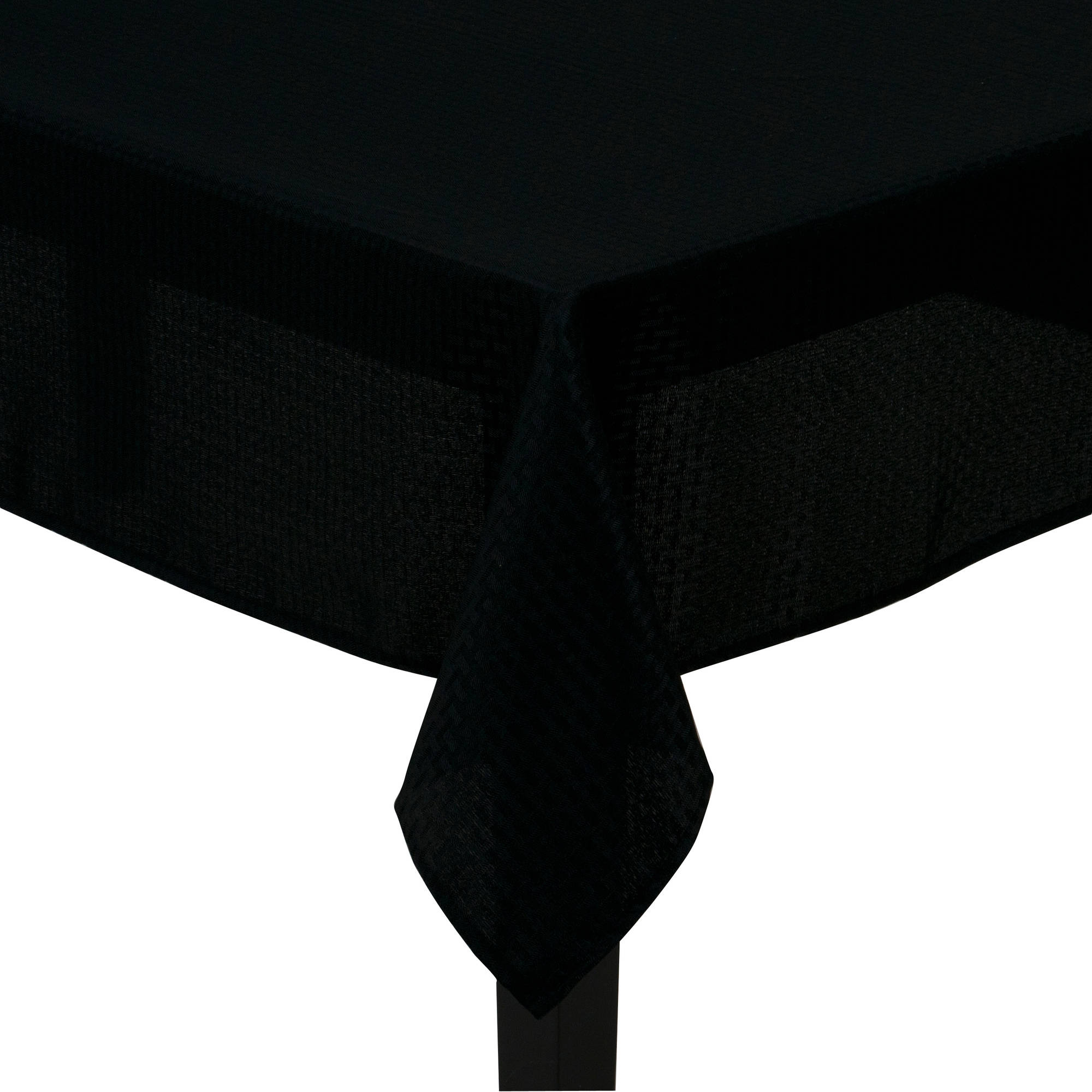 mainstays hyde fabric tablecloth black round accent table tablette white furniture elegant dining room sets acrylic console coastal bedroom decor metal desk legs meyda tiffany