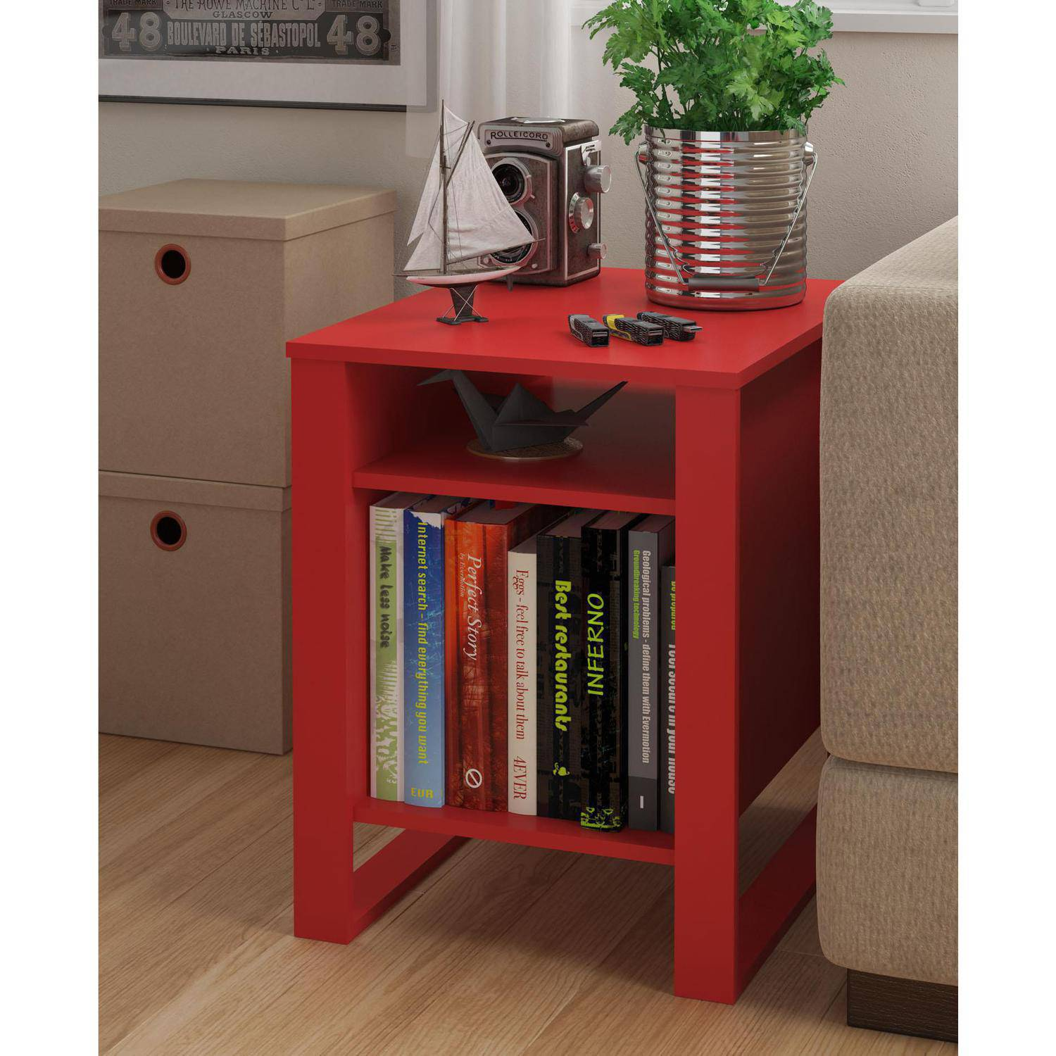 mainstays side table multiple colors red accent wood coastal inspired lamps stein world furniture outdoor white rectangle coffee west elm cushions gray dining room chairs kohls