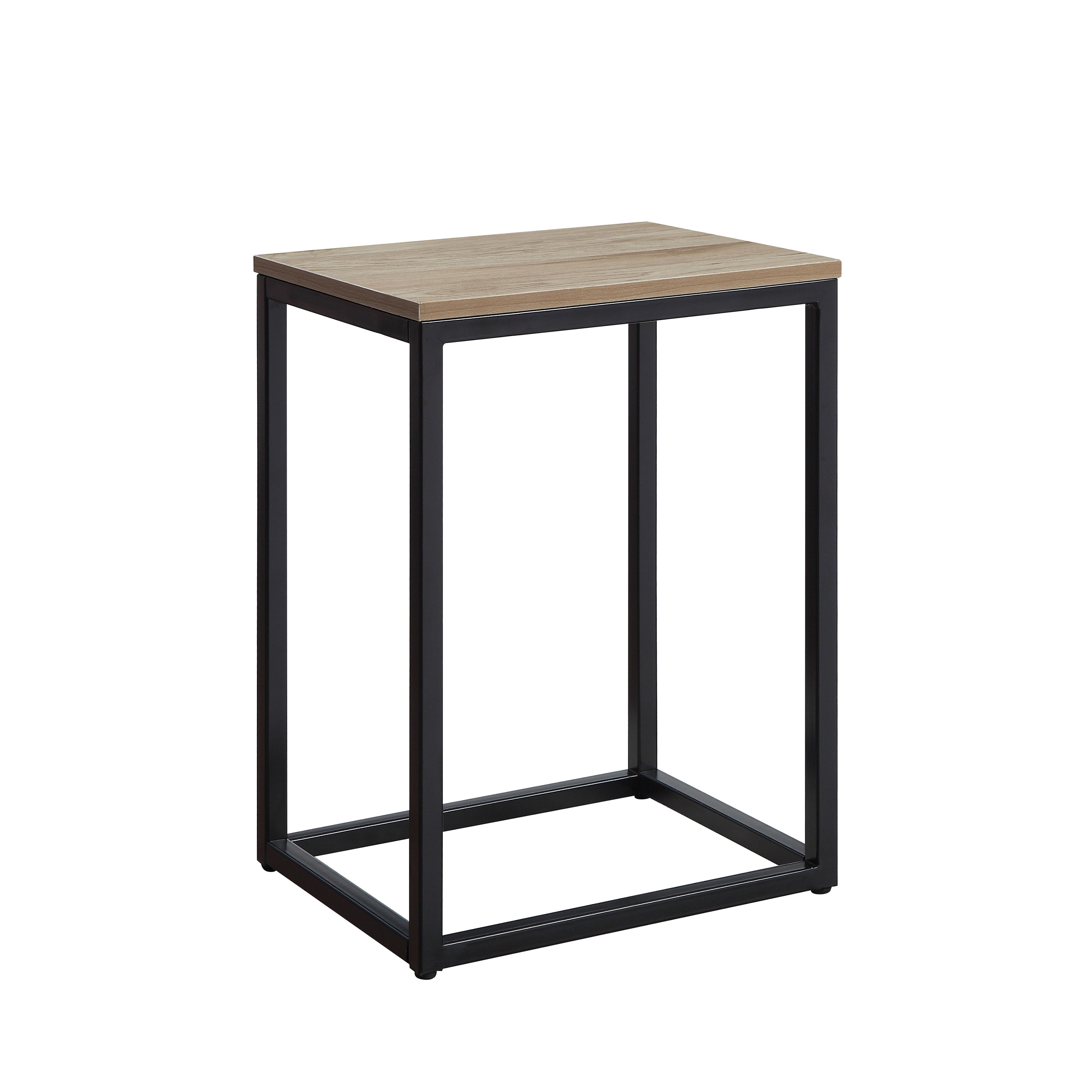mainstays wicker side table brown inventory checker better homes and gardens mercer accent vintage oak end with space saving design durable metal frame multiple finishes tro lamps