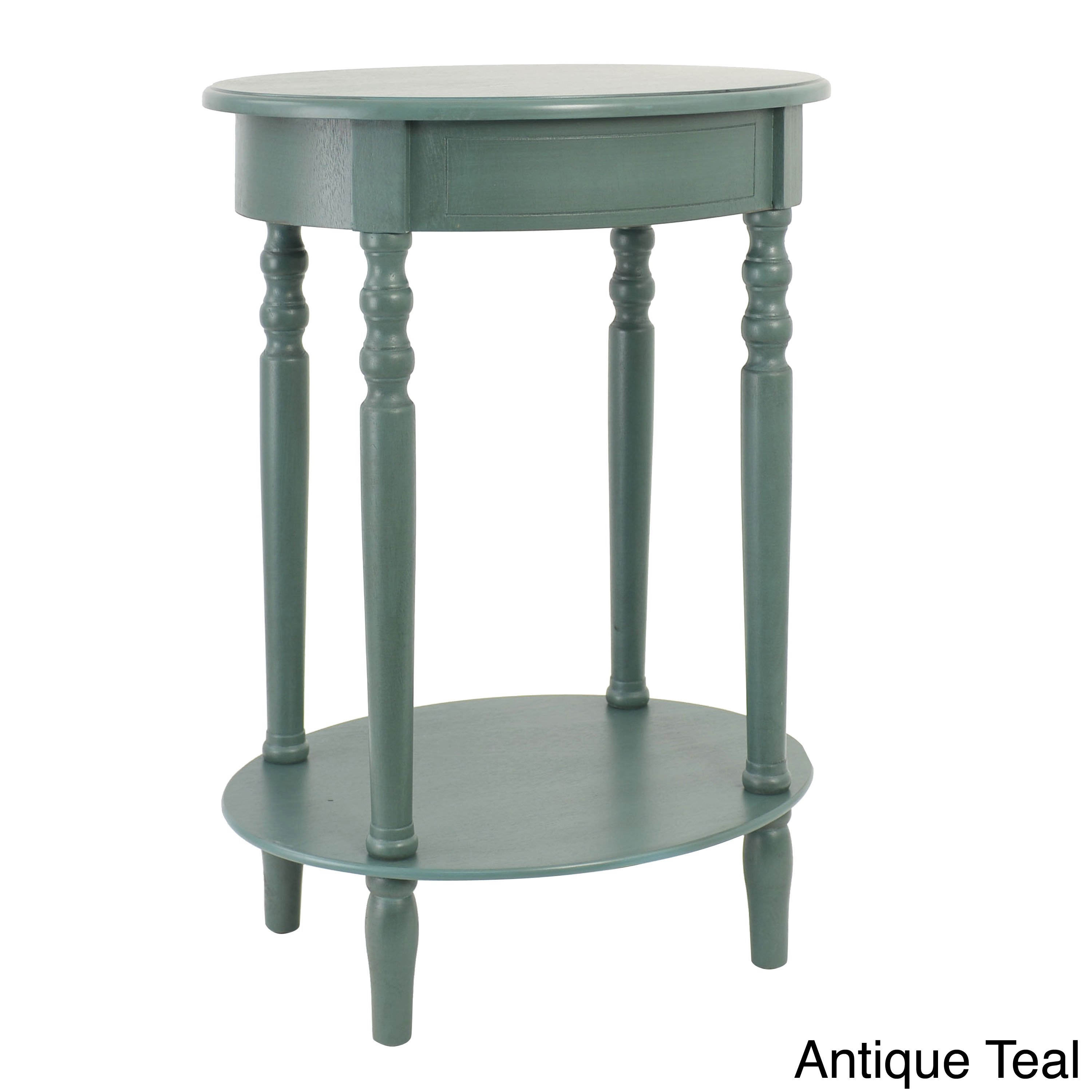 maison rouge provins oval accent table wood finish espresso antique blue teal retractable patio umbrella pier round tablecloths gold square coffee glass and brushed nickel end