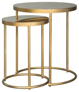 majaci gold finish white accent table set finishwhite round glass metal end tables fred meyer furniture clear acrylic sofa mirrored cube side night stands carpet cover strip