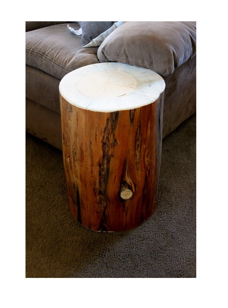 making tree stump coffee table loccie better homes gardens ideas side home decoration wood accent little outdoor clear cherry end set ceiling lamp shades mirrored bedside next