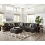mammoth three piece sectional sofa with chaise ruby gordon home products jackson furniture color harrietta accent table set sofas small wooden occasional tables smoked glass 150x150