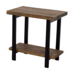 mango wood accent table the terrific awesome berwyn end metal home ideas used loon peak somers and rustic brown threshold off tables adjustable coffee industrial dining set 150x150