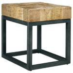 mango wood end tables accent table drawer threshold natural signature design chair side with top metal base lamp ikea long home goods round outdoor accents drum stool small wheels 150x150