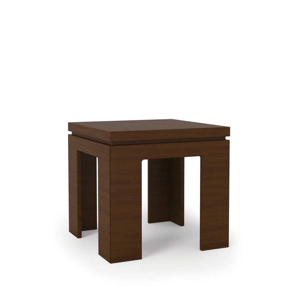 manhattan comfort bridge square length modern nut brown side tables mhc accent end table unique blue nesting oriental porcelain clearance deck furniture small corner coffee curved