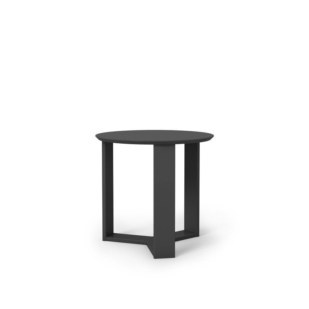 manhattan comfort madison round accent end table side tables mhc black gloss eames chair replica small glass and chairs cool coffee marble cocktail monarch hall console cappuccino