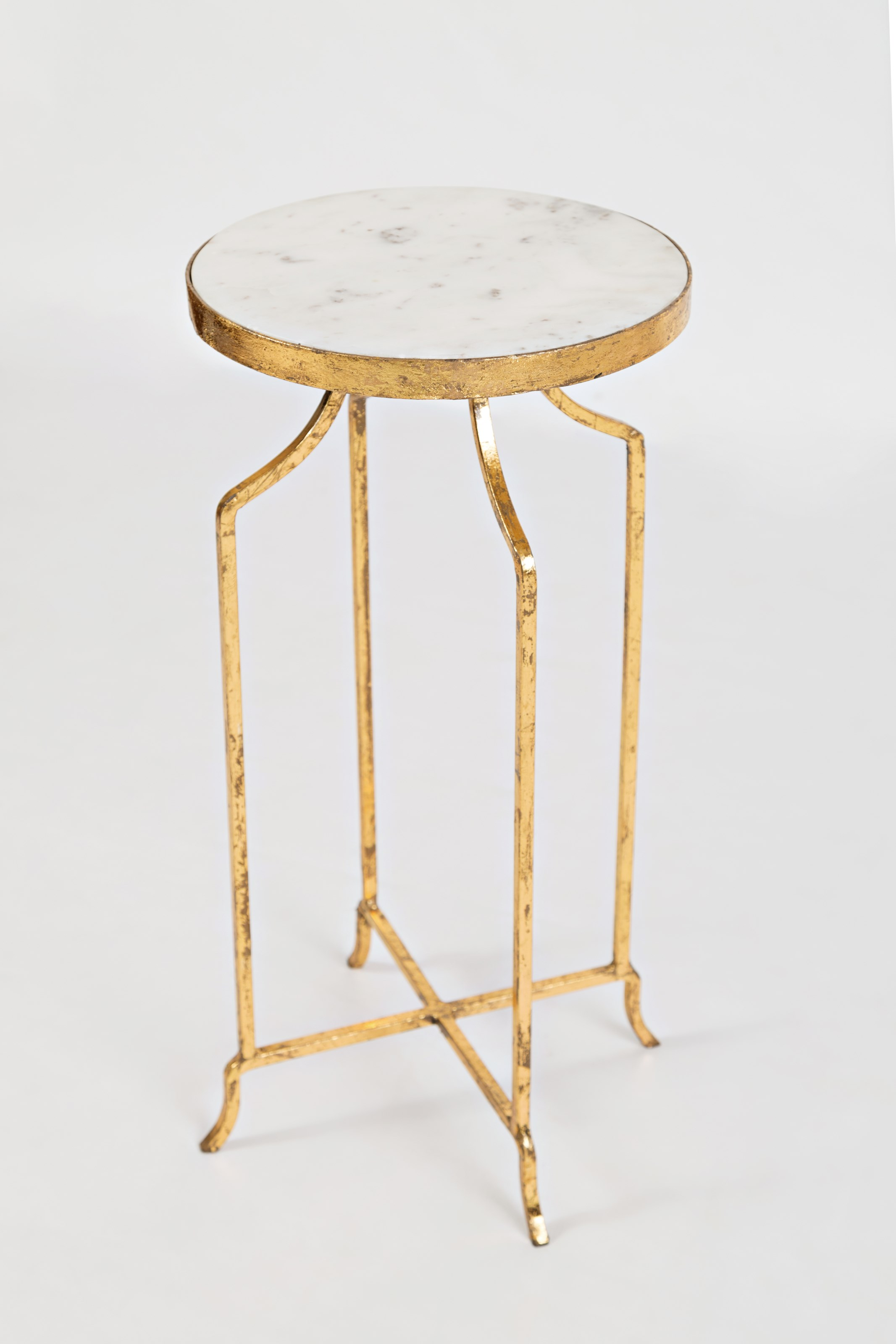 marble and golde round accent table jofran wolf gardiner products color global archive gold dining cover designs fur furniture cocktail linens square patio side ashley chicago