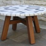 marble mosiac eucalyptus chat table decorative stone accent teak wood nook small round patio cover west elm track order cute side tables outdoor chairs for balcony sauder shoal 150x150
