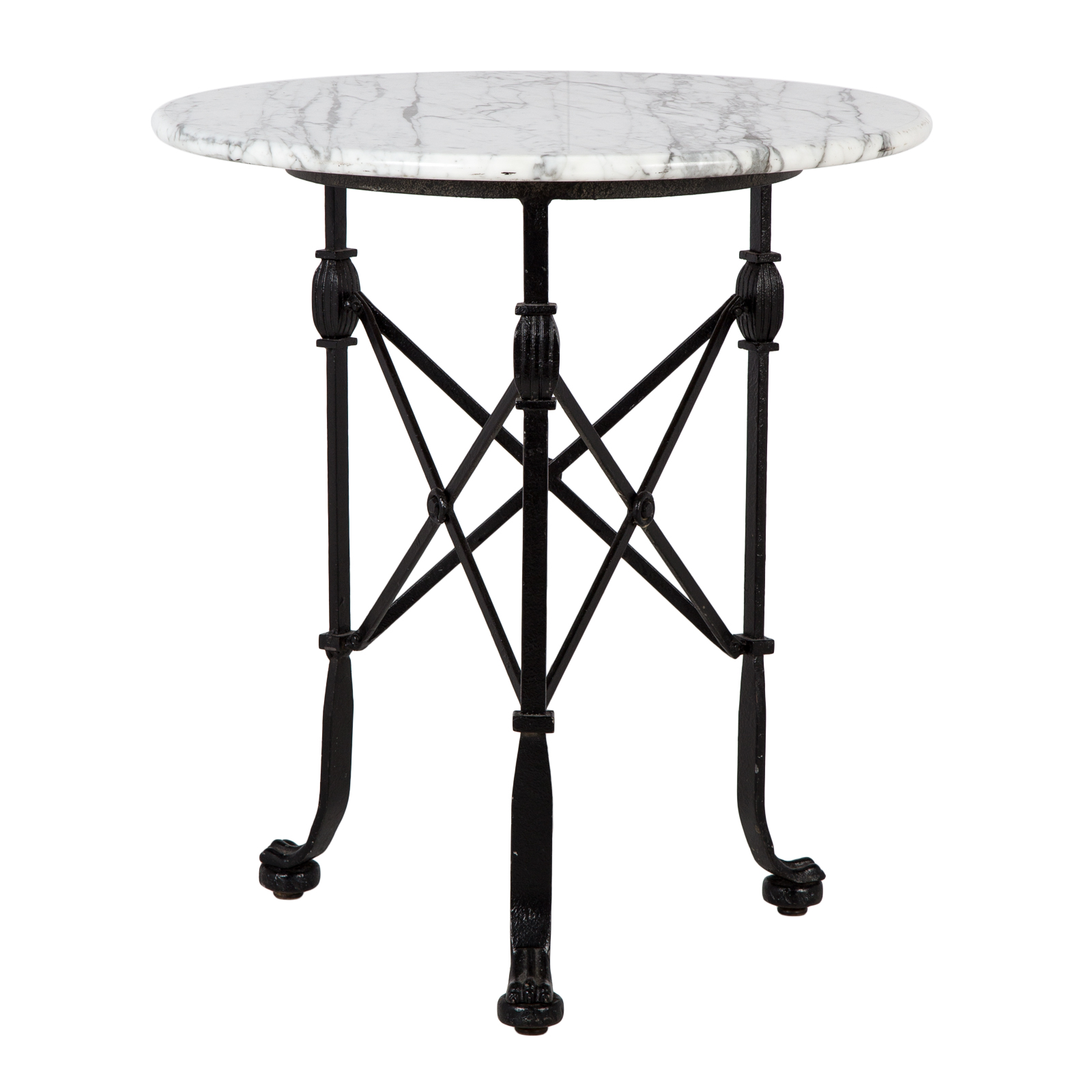 marble side table rentals event furniture rental corvus tall top feature outdoor bedroom dinette and patio edmonton plastic umbrella bassett end tables accent farmhouse mint green