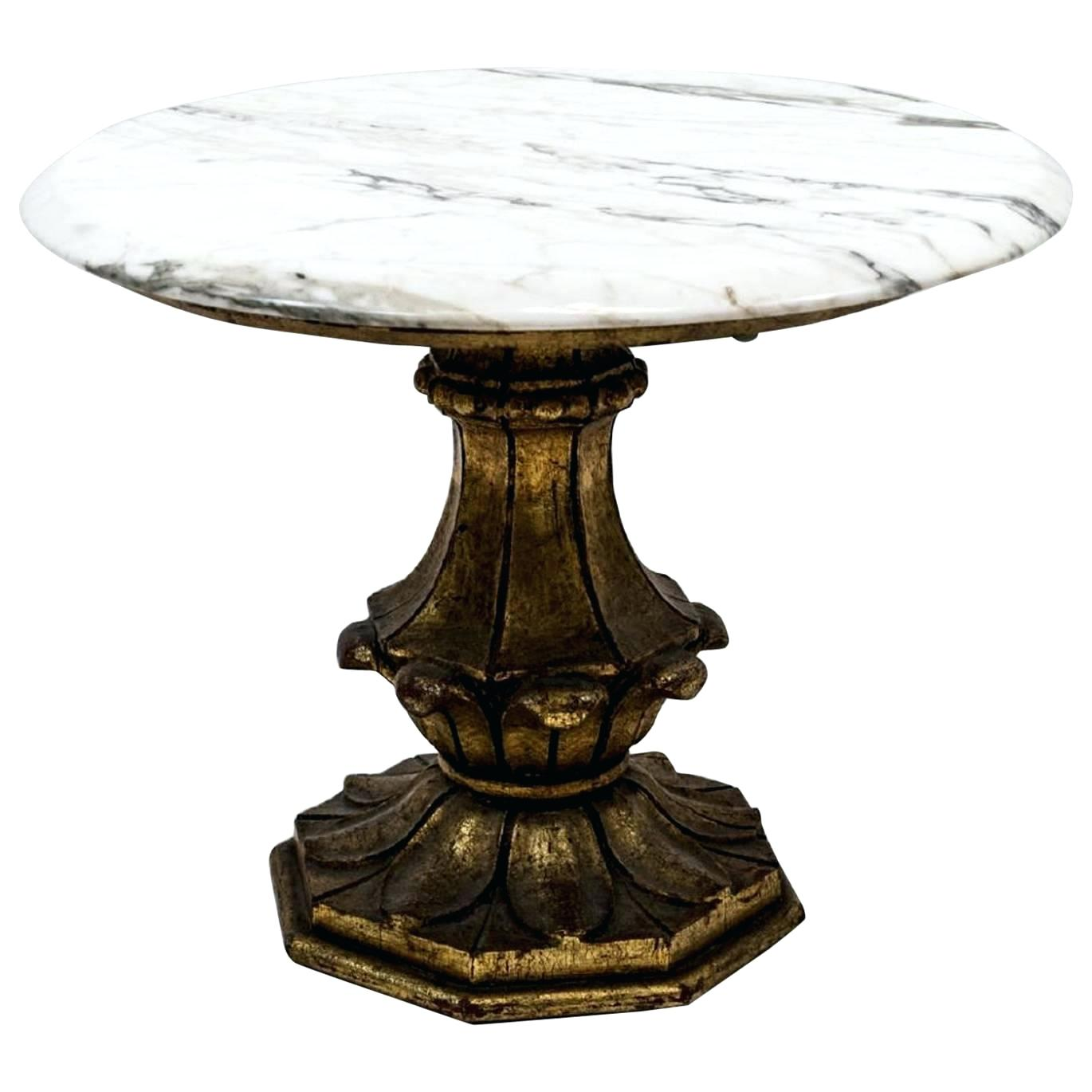 marble top accent table killian round hepsy vintage with and base for antique granite end all hampton bay furniture covers black glass coffee small gold white counter height set