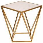 marble top accent tables find gold table with get quotations kate and laurel maia metal side dale tiffany hummingbird lamp retro furniture jcpenney rugs clearance small dresser 150x150