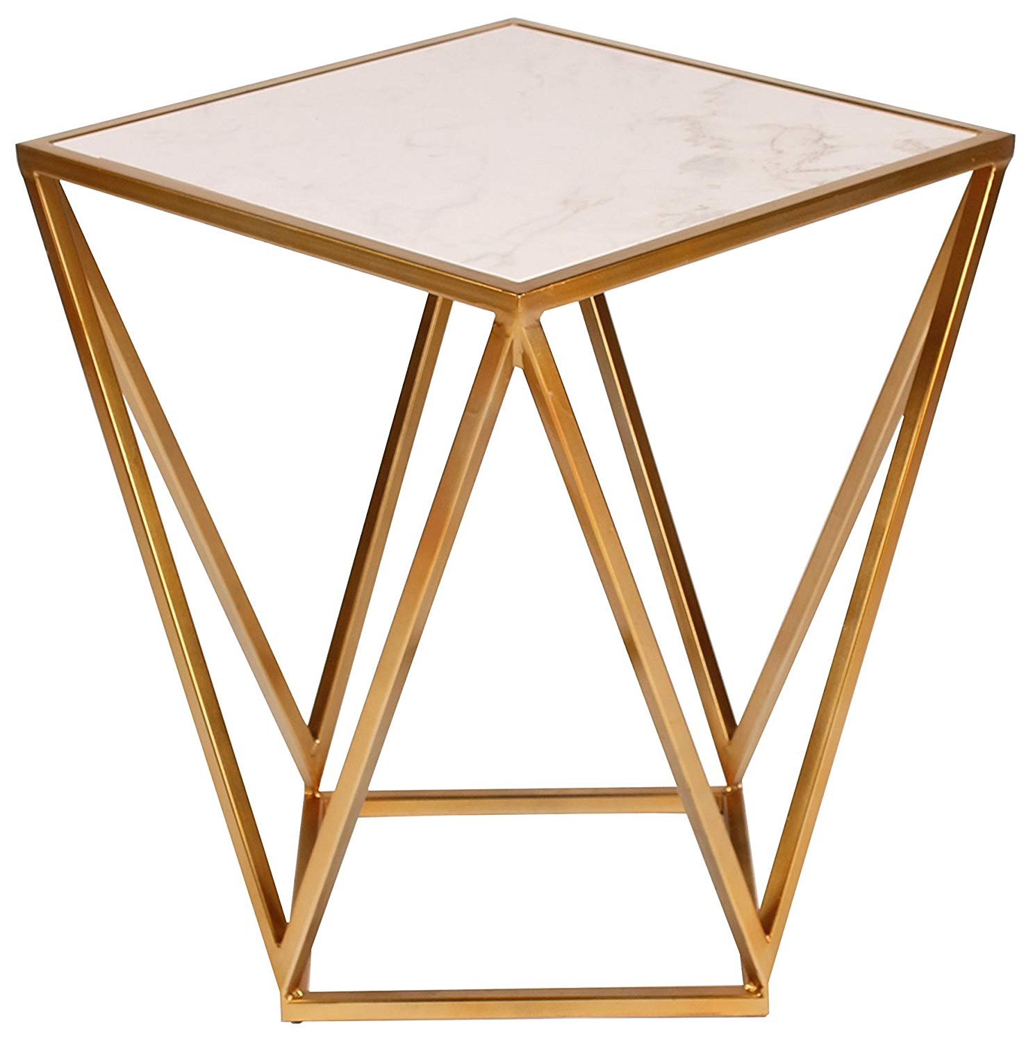 marble top accent tables find gold table with get quotations kate and laurel maia metal side dale tiffany hummingbird lamp retro furniture jcpenney rugs clearance small dresser