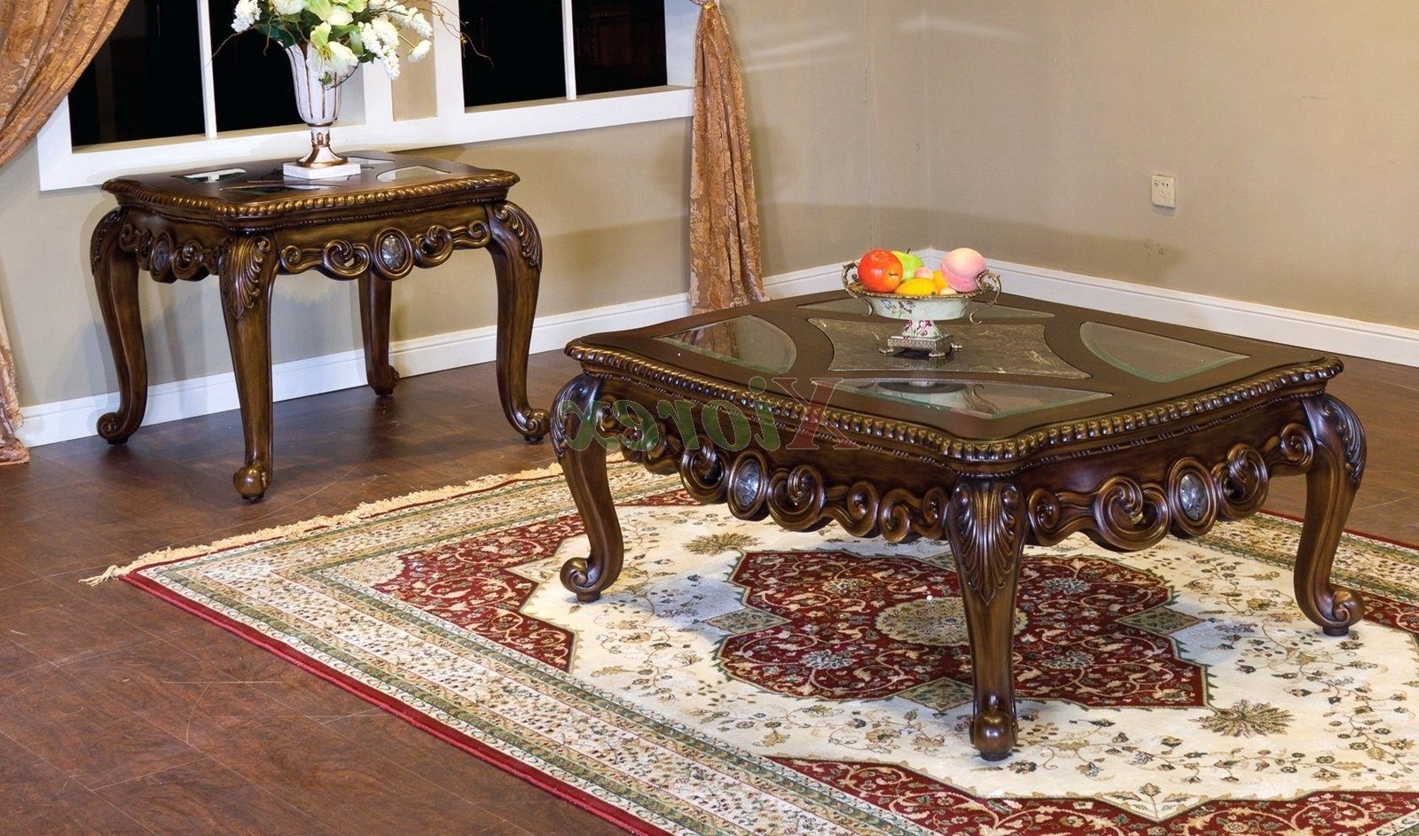 marble top coffee table sets this versatile accent group includes rectangular and two matching end tables round hampton bay furniture covers funky farmhouse seats york skinny