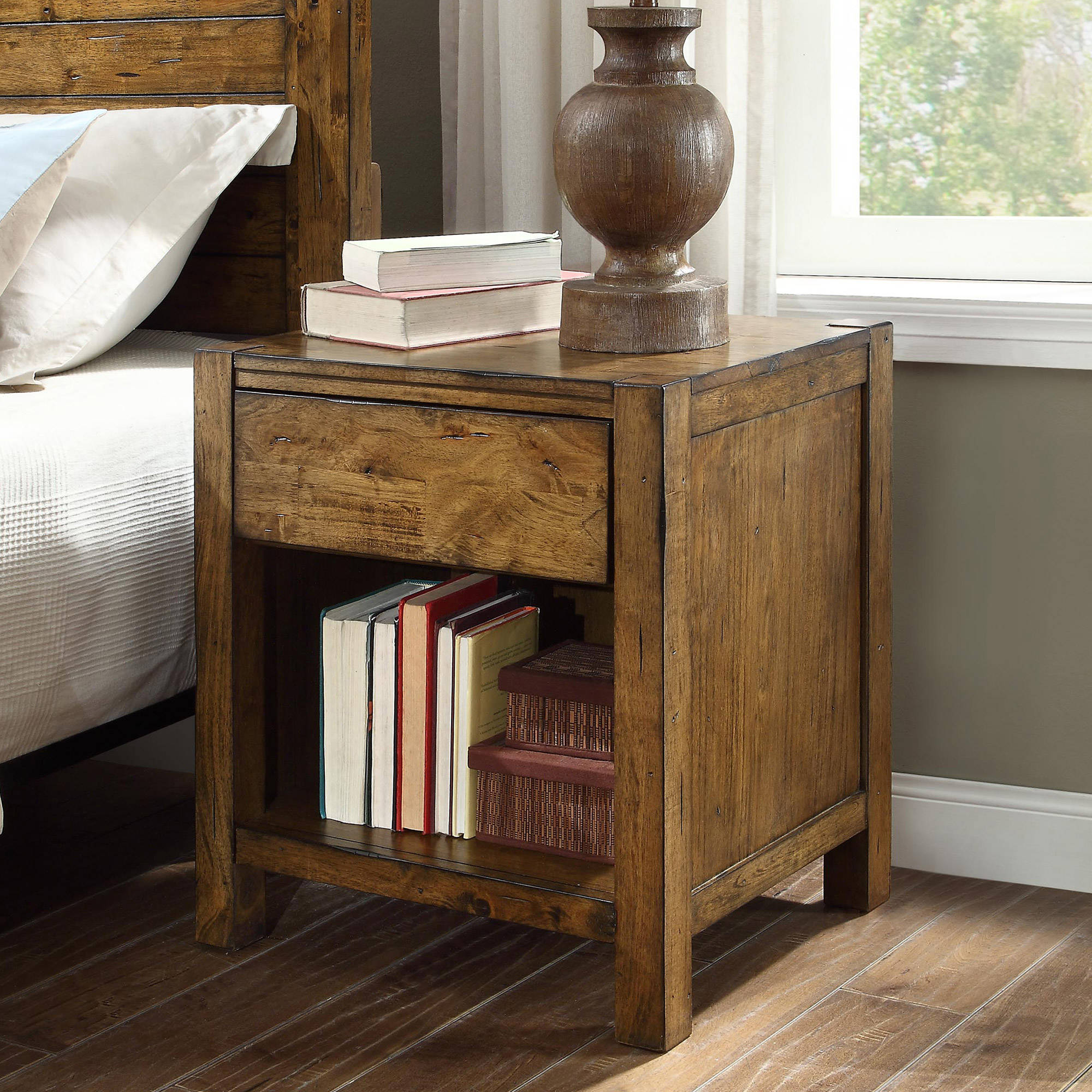 marble top kitchen table the terrific awesome mainstays nightstand rustic nightstands end dark gray oak better homes and gardens bryant maple brown finish ashley furniture round