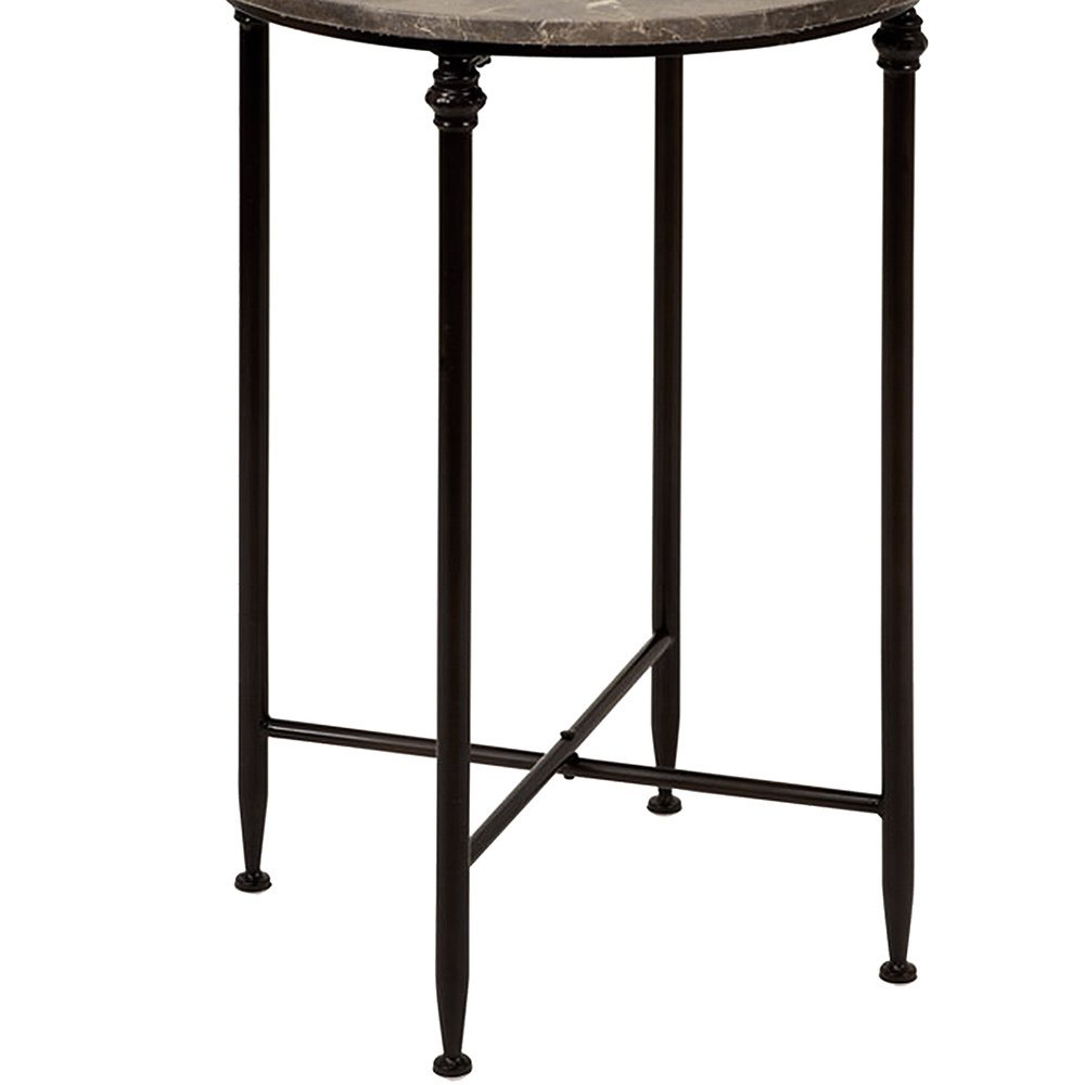 marble top round accent table free shipping today cantilever umbrella york furniture patio umbrellas skinny behind couch storage cabinets and chests pine trestle occasional chairs