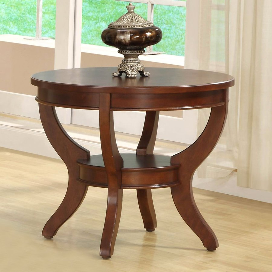 marble top round accent table the perfect free end homelegance avalon low sheen cherry dining room sets freestanding kitchen island stuff made from pallets with shelves glass