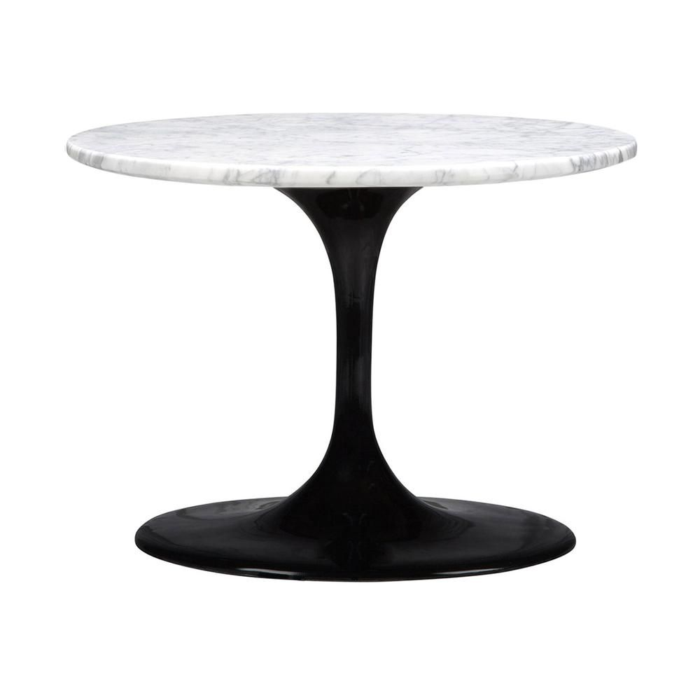 marble tulip side table dot tables marbles round metal glynn accent area rugs outdoor rattan chairs wooden contemporary dining room blue white ginger jar lamp christmas coffee