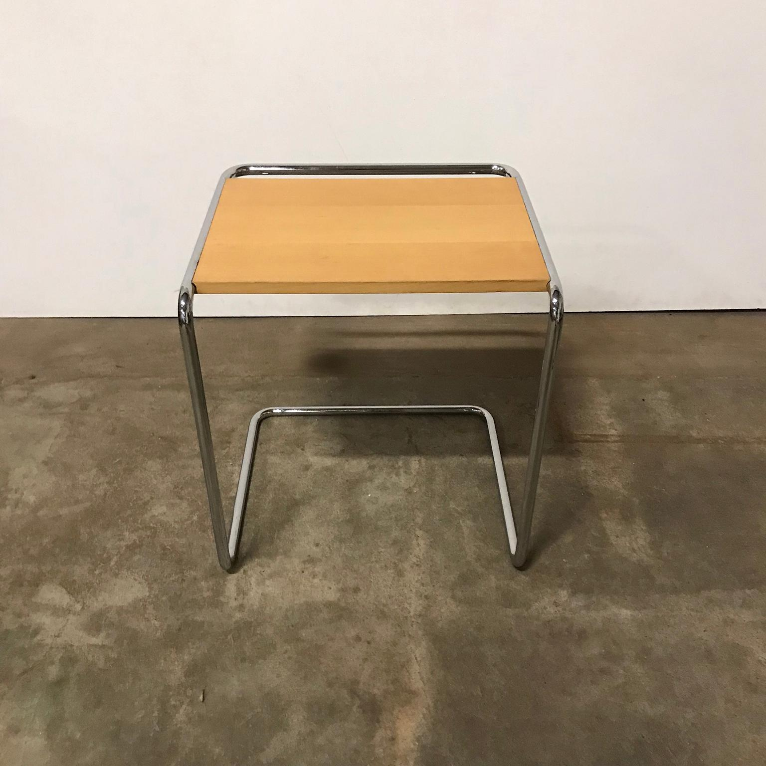 marcel breuer for thonet and wood with chrome set blank houten bijzettafels master mawr metal accent table frame pottery barn slipcover sofa patio umbrella stand standard side