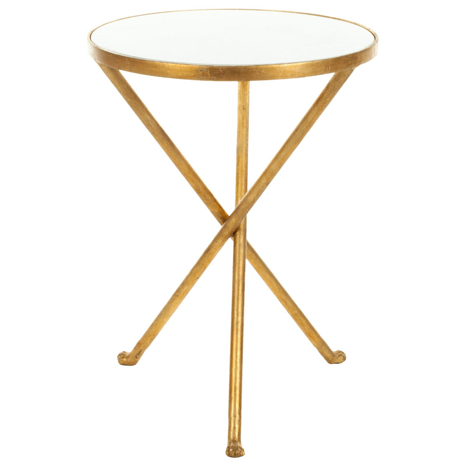marcie accent table layla grayce laylagrayce and marble top round featuring burnished brass patina this cast iron furnishing expresses textured interest with white funky coffee