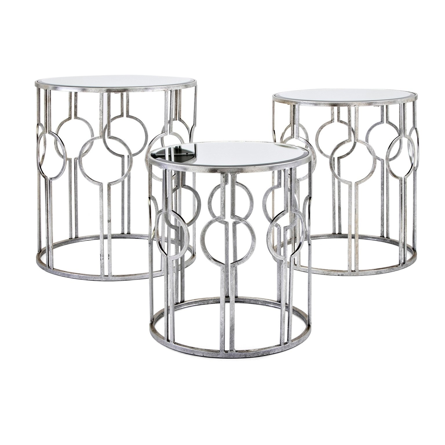 margaret antiqued silver mirror accent tables set table and free shipping today entryway bench ikea cottage coffee malm side ashley nesting rustic end sets corner cabinet baby