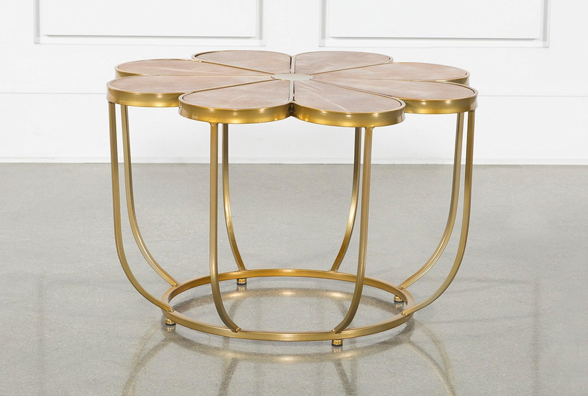 margarita accent table living spaces brown metal signature tables qty has been successfully your cart small white console hampton bay spring haven outdoor patio furniture sets