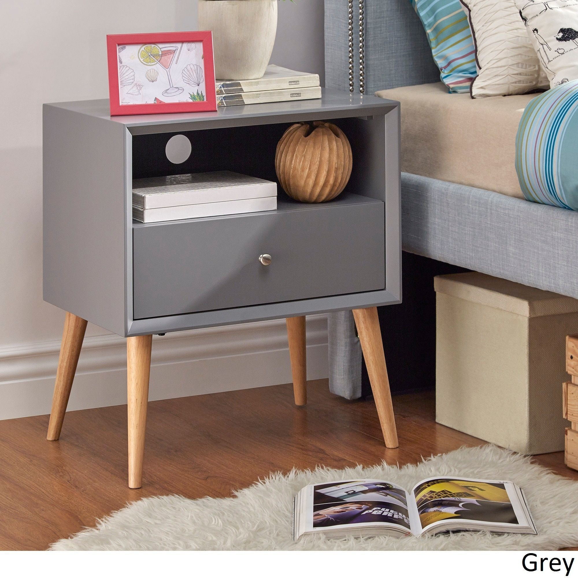 marin danish modern drawer storage accent side table inspire with grey all weather wicker furniture hollywood mirrored bass drum pedal cool living room tables foosball kids white