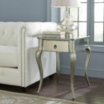 marissa mirrored side table living room ideas small accent tables under round brass and glass coffee fruit cocktail recipe antique dining wood unfinished desk legs chippendale 150x150