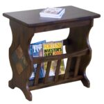 market square morris home furnishings traditional magazine rack end products sunny designs color sante accent table with holder vintage brass and glass coffee battery touch lamp 150x150