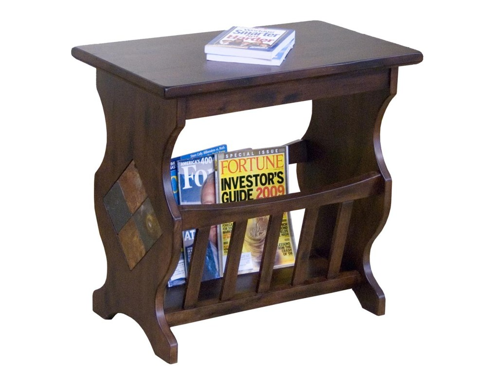 market square morris home furnishings traditional magazine rack end products sunny designs color sante wood accent table furnishingsgable place grill brush washer dryer combo