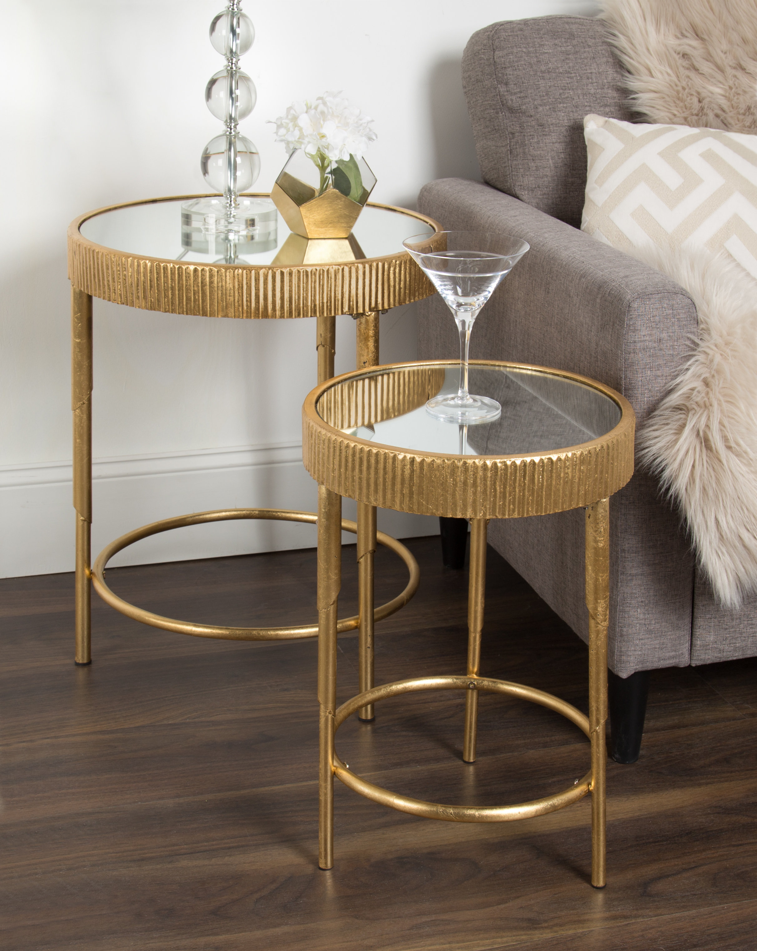 marley round piece modern accent nesting tables wood table pottery barn dining set pier chairs pine end gold and glass coffee umbrella stand base vintage tier side plastic garden