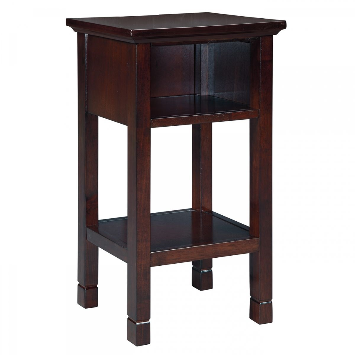 marnville brown accent table with usb port badcock more ture pottery barn bookcase target console antique blue end ryobi seat for drums long white side living room tables low