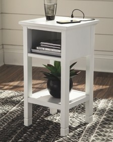 marnville white accent table and kade end tables under industrial hairpin legs wood top side patio teak garden furniture backyard bar with chairs solid cherry kitchen dorm