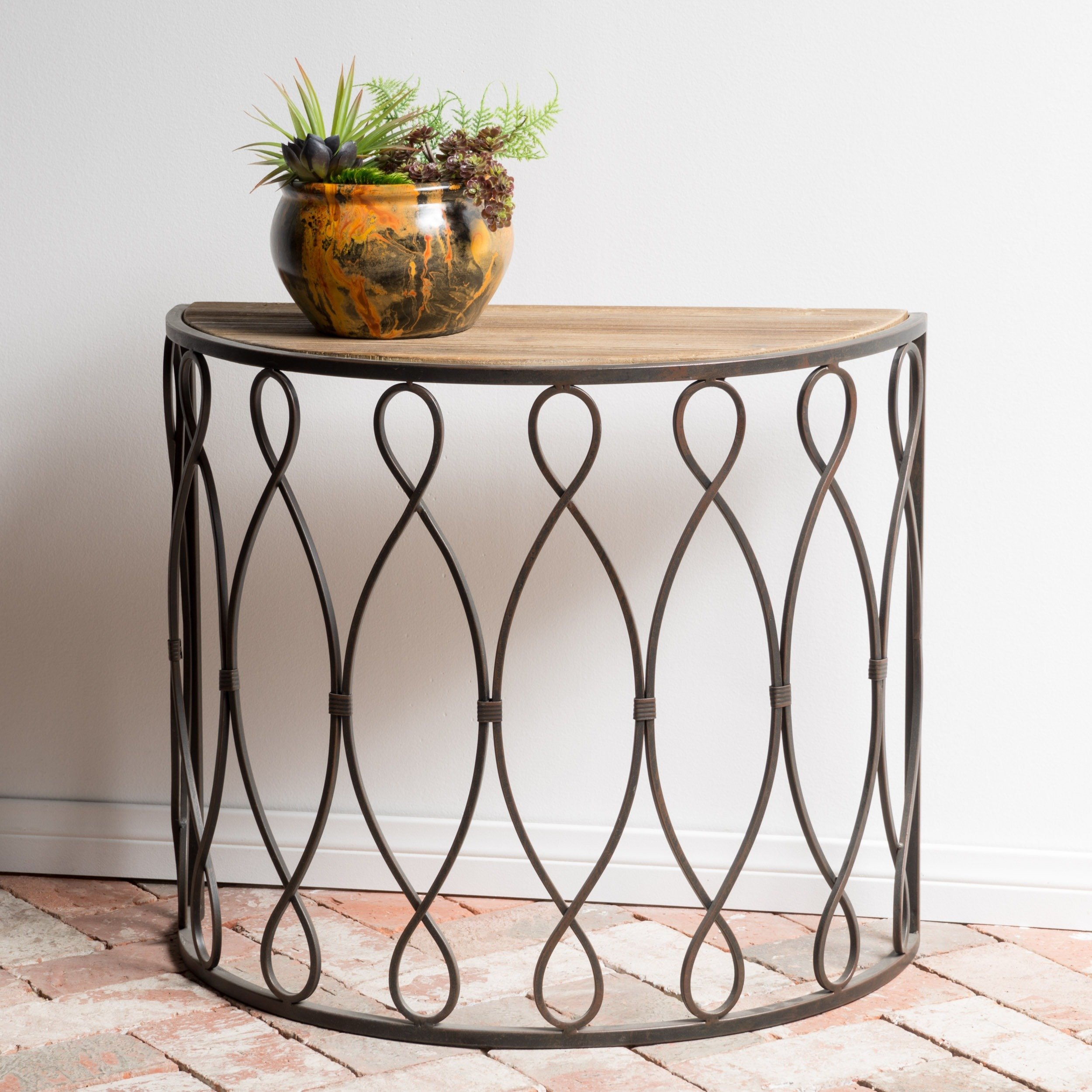 marseille small rustic accent table christopher knight home free shipping today teak lamp tables wicker patio set fabric storage cubes ikea pine dresser nautical lighting indoor