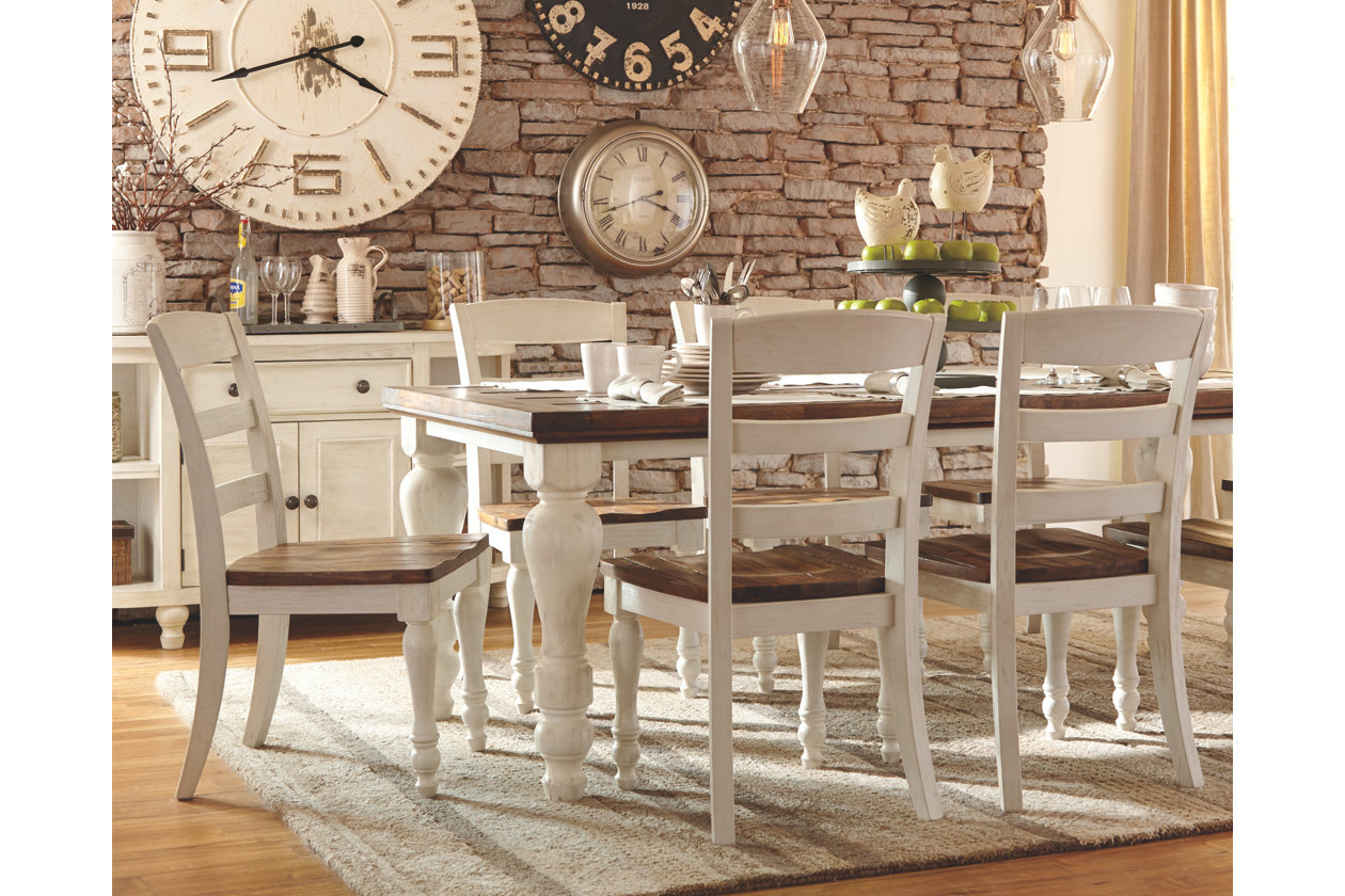 marsilona piece dining set ashley furniture home alt crop web table accent pieces plant stand round side silver cala hammered drum glass coffee and end sets decorative chairs